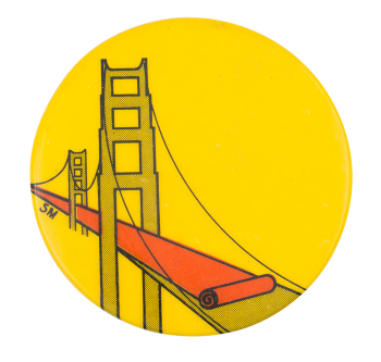 Golden Gate Bridge Art Button Museum