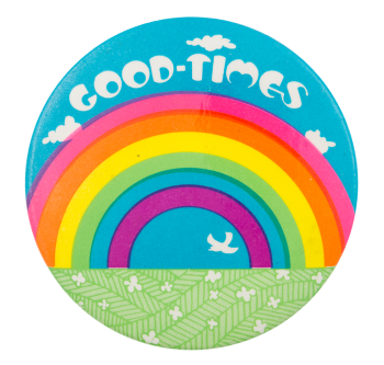 Good Times Rainbow Art Button Museum