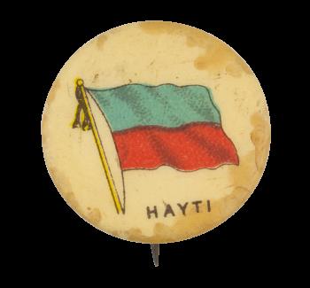 Hayti Flag Art Button Museum