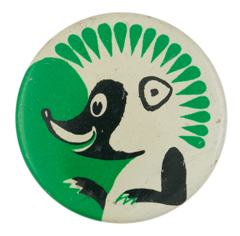 Hedgehog Art Button Museum