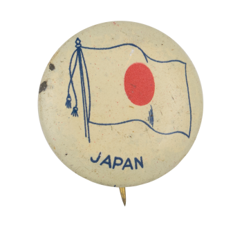 Japan Flag Art Button Museum
