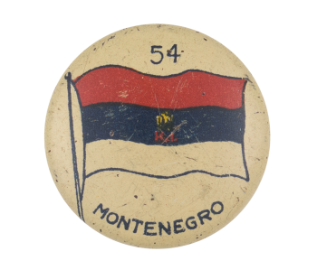 Montenegro Flag Art Button Museum