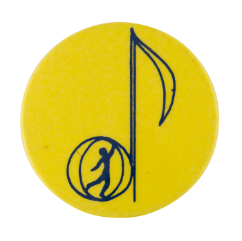 Musical Note Art Button Museum