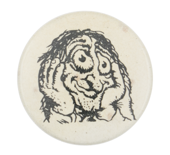 Robert Crumb's Stoned Agin Art Button Museum