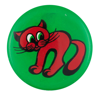 Red Cat Art Button Museum