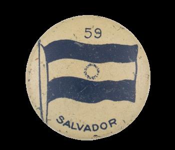 Salvador Flag 59 Art Button Museum