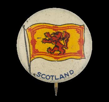 Scotland Flag Art Button Museum
