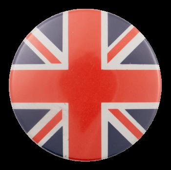 Union Jack Flag Art Busy Beaver Button Museum