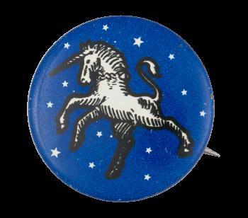 White Unicorn Art Button Museum