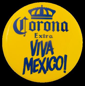 Corona Viva Mexico Beer Busy Beaver Button Museum