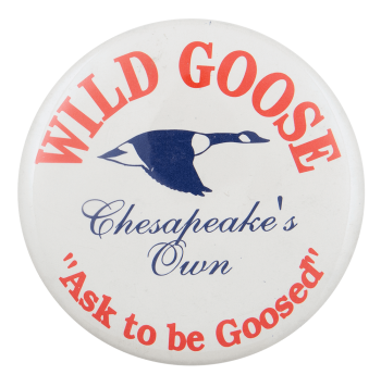 Wild Goose Beer Busy Beaver Button Museum