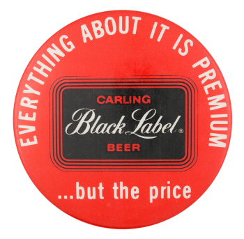 Carling Black Label Beer Beer Button Museum