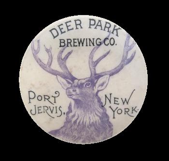 Deer Park Brewing Company Beer Button Museum