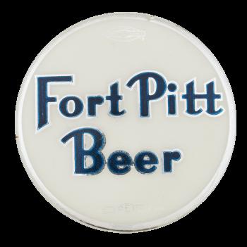 Fort Pitt Beer Beer Button Museum