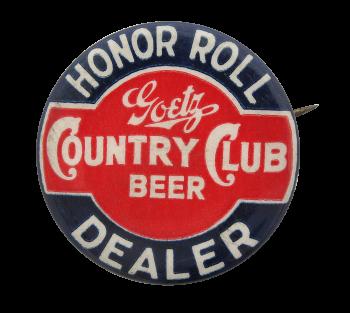 Goetz Country Club Beer Beer Button Museum