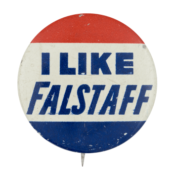 I Like Falstaff Beer Button Museum