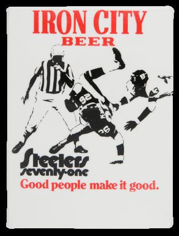 Iron City Beer Beer Button Museum