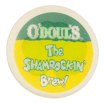 O'Doul's The Shamrockin' Brew Beer Button Museum