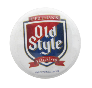 Old Style Beer Beer Button Museum