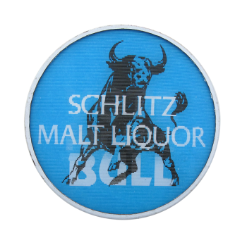Schlitz Malt Liquor Beer Button Museum