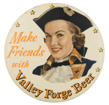 Valley Forge Beer Beer Button Museum