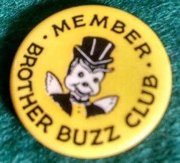 Brother Buzz Club Member Pin
