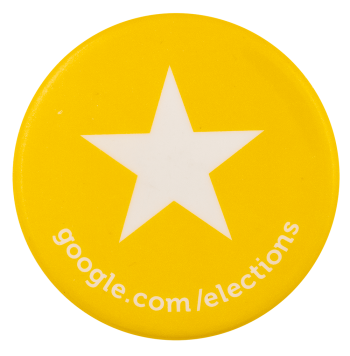 Google Star Elections Advertising Busy Beaver Button Museum