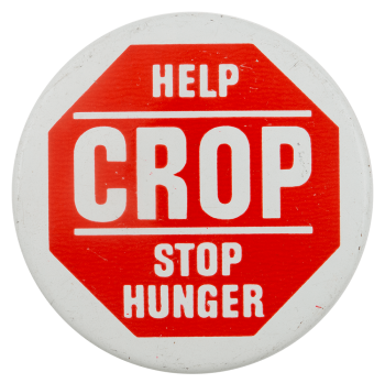 Help Crop Stop Hunger Cause Busy Beaver Button Museum