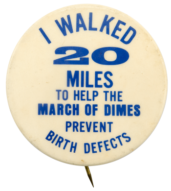 I Walked 20 Miles Cause Busy Beaver Button Museum