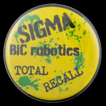 Sigma Bic Robotics Cause Busy Beaver Button Museum
