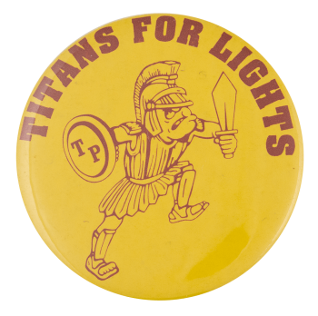 Titans for Lights Cause Busy Beaver Button Museum