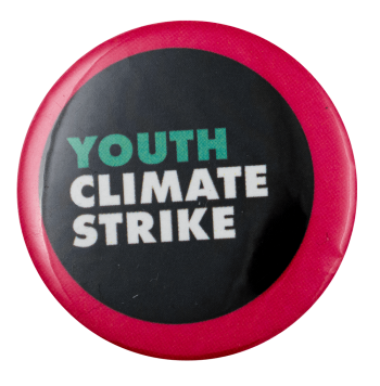 Youth Climate Strike Cause Busy Beaver Button Museum