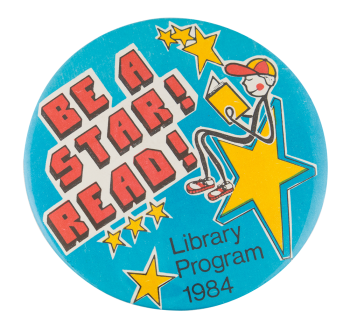 Be a Star Read Cause Button Museum
