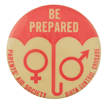 Be Prepared Pink Cause Busy Beaver Button Museum
