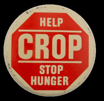 Beige Help Crop Cause Busy Beaver Button Museum