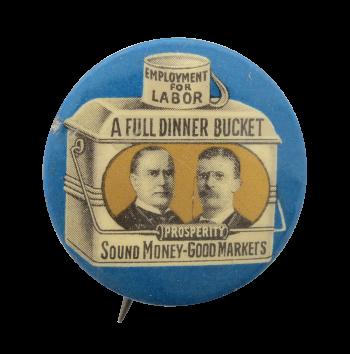 Employment For Labor Blue Cause Political Button Museum