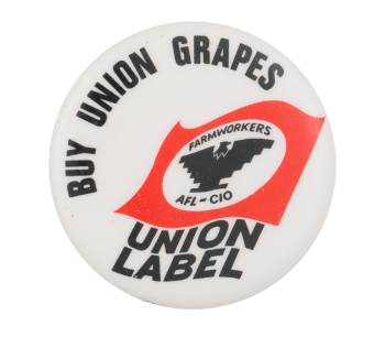 Buy Union Grapes Cause Button Museum