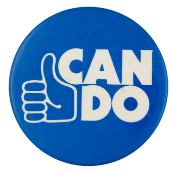 Can Do Cause Button Museum