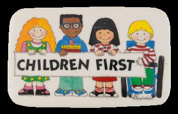 Children First Cause Button Museum