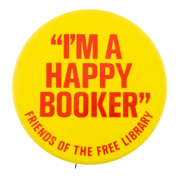 Friends of the Free Library Cause Button Museum