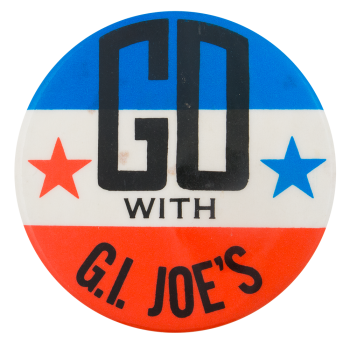 Go With G.I. Joe's Advertising Busy Beaver Button Museum