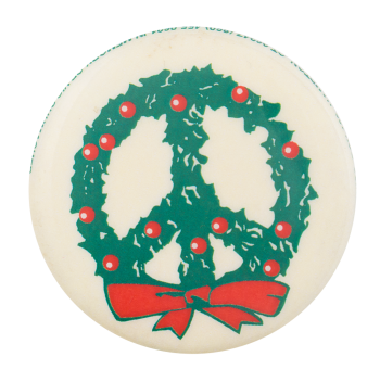 Holiday Peace Cause Button Museum