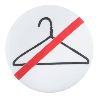No Hangers Cause Button Museum