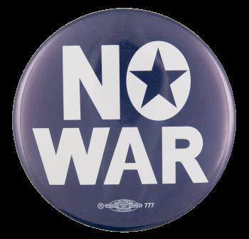 No War Cause Button Museum