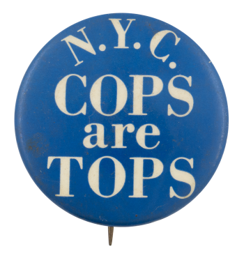 N.Y.C. Cops are Tops Cause Button Museum