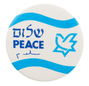 Peace Dove Cause Button Museum