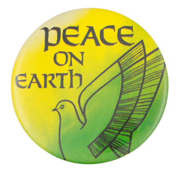 Peace on Earth Cause Button Museum