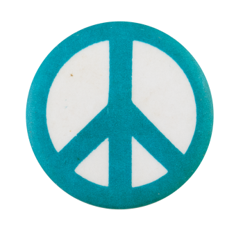 Peace Sign Cause Button Museum