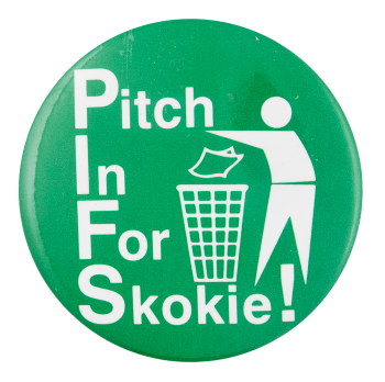 Pitch In For Skokie Cause Button Museum