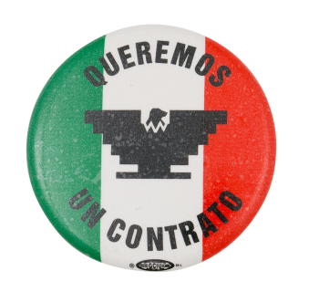 Queremos un Contrato Cause Button Museum